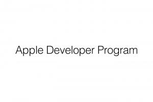 Apple Developer|いつも使っているApple IDでの登録方法