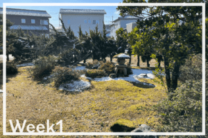 Week1「富山の実家に来てから、日々のアップデート」